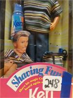 Shaving Fun Ken 1994-shaver is included,