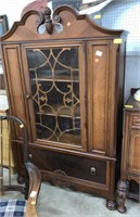One Door China Cabinet Cut Down