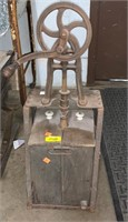 """Canister Butter Churn 11""""x10""""x29"""""""