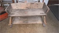 Antique Buggy Seat