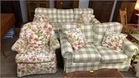 3 Piece Sofa And Love Seat