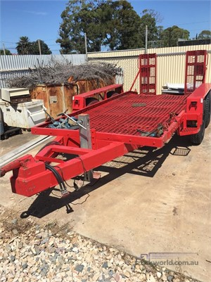 Premier Plant Trailer With Ramps - Trailers for Sale