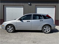 2007 FORD FOCUS ZX5 5D SES