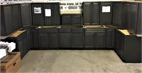 Newcastle Grey Kitchen Cabinet Set