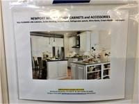 Newport White kitchen Cabinet Set