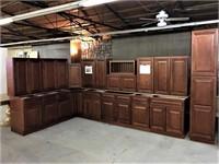 Grand Reserve Cherry Kitchen Cabinet Set