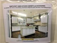 Nantucket Linen Kitchen Cabinet Set