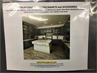 Platinum Shaker Kitchen Cabinet Set