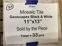 "Shaw 11""x13"" Mosaic Tile"