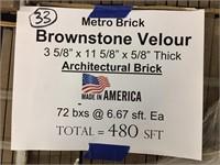 Metro Brick 3 5/8x 11 5/8 Tile