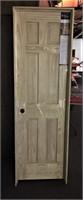 """6 Panel Pine 24"""" RH Prehung Door"""