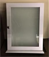Pair (2) White RSI Medicine Cabinets