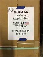 "Mohawk 3/4"" x 3 1/4"" Hardwood Floor"