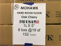 "Mohawk 3/4'x5""  Hardwood Floor"