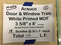 Arauco Door and Window Trim