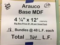 "Arauco  Baseboard 4 1/4"" x 12'"