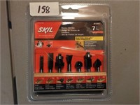 Skil 7 pc Router Bit Set