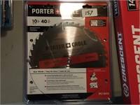 "10"" Porter Cable Carbide Tip Saw Blade"