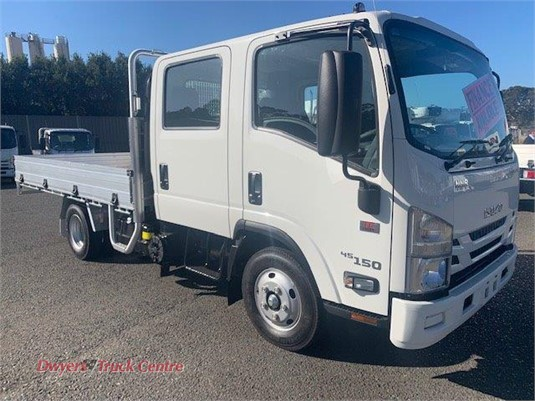 2020 Isuzu NNR 45 150 AMT CREW Dwyers Truck Centre - Trucks for Sale