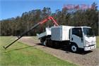 2012 Isuzu NQR 450 Long Crane Truck