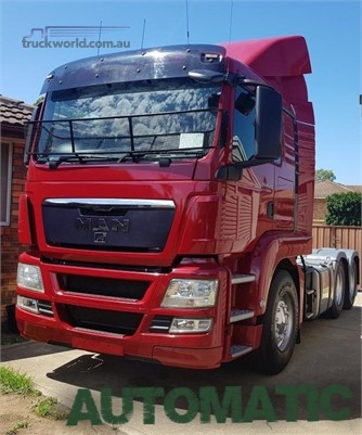 2010 MAN TGX Southern Star Truck Centre Pty Ltd  - Trucks for Sale