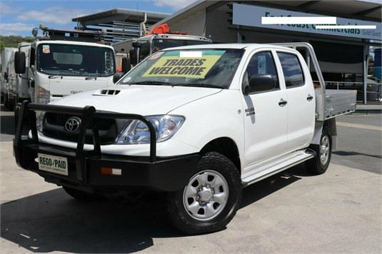 2011 Toyota Hilux Kun26r My10 Sr - Light Commercial for Sale