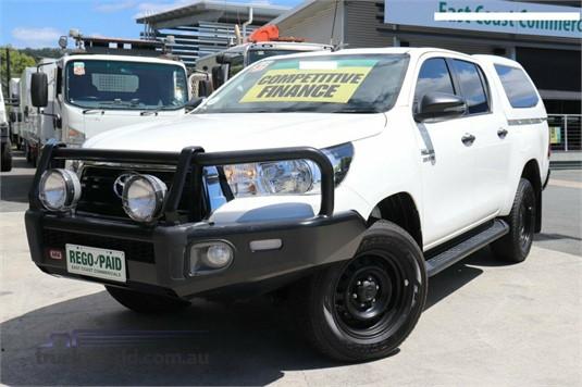 2019 Toyota Hilux Gun126r Sr Double Cab - Light Commercial for Sale