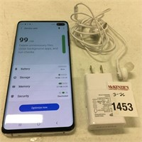 (MISSING CHARGING CABLE)SAMSUNG GALAXY S10 PLUS