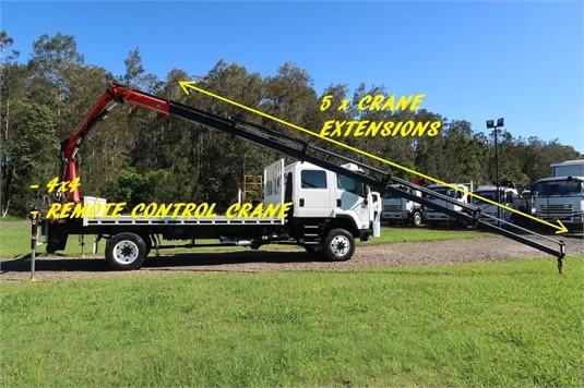 2014 Isuzu FTS 800 4x4 - Trucks for Sale