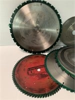 Grouping of Various Saw Blades