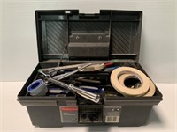 Rubbermaid Tool Box with Contents