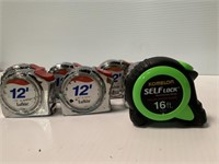 Group of Tape Measures