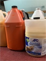 Jugs of Hand Cleaner