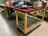 Bennet Manufacturing Steel Layout Table