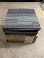 Lot of Many Chenille Warp II Carpet Tiles