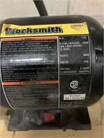 Worksmith HD 1/2 HP Bench Grinder and Stand