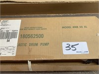 New in Box Plastic Drum Pump