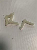 Large Lot of Window Clips and Fasteners   Rack