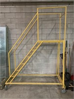 5' Rolling Warehouse Ladder