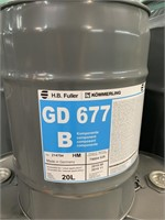 (7) 200 L Drum GD677A and B HB Fuller Sealant