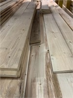 Large Lift of Assorted Fencing Lumber