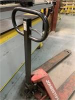 "Johnston HD Pallet Truck 48"" Forks"