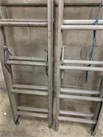 Pair of HD Aluminum Extension Ladders