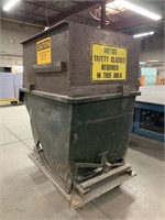 HD Steel Tilting Dump Bin