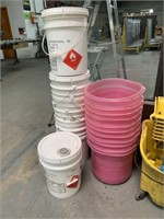 Maintenance Buckets and Pails
