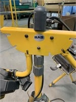 Pair RAB Halogen Tripod Work Lights