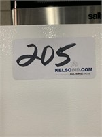 Kenmore Refrigerator and Salton Microwave Oven
