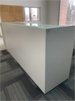 Modern Reception Desk with Counters and Chair