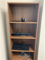 Bookcase with Keyboards