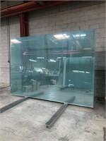 9 Sheets Green Glass 6mm
